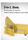 Industrial Folding V-Plow- Brochure