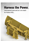 Model REL - Heavy Duty Reversible Snow Plow- Brochure