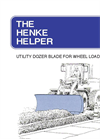 Helper - Dozer Blades for Graders and Loaders Brochure