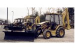 Loader Backhoe Plow