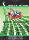 Agricola - Model M-815 - Self-Propelled Hydraulic Traction Sowing Machine - Datasheet