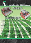 Agricola - Model AI-620 - Simple, Linear, Mechanical Sowing Machine - Datasheet