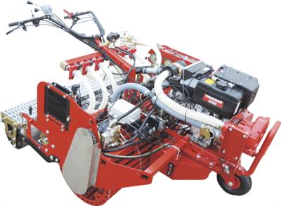 Agricola - Model M815 - Self Propelled Hydraulic Traction Sowing Machine