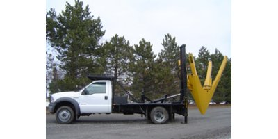 Truck-Mounted Straight-Blade Tree Transplanting Spades-1
