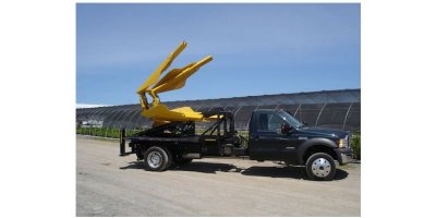 Truck-Mounted Straight-Blade Tree Transplanting Spades-2