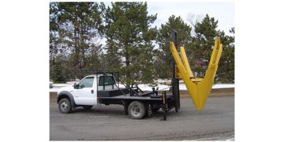 Truck-Mounted Straight-Blade Tree Transplanting Spades-4