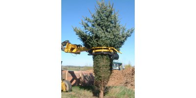 Tree Tyer - Truck Mounted Tree Transplanting Spade-1