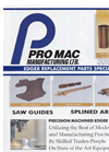 Pro Mac - Edger Splines - Brochure