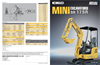 KOBELCO - Model SK17SR - Mini Excavators - Brochure