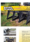 Gorilla - 6 Tine Skid Steer Grapple Brochure