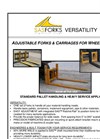 SAS - Adjustable Forks Brochure