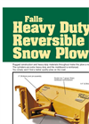 Falls - Model HDR Series - Heavy Duty Reversible Snow Plow - Brochure