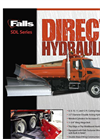 Falls - Model SDL Series - Direct Hydraulic Snow Wing - Truck Rear Mount - Brochure
