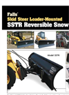 Falls - Model SSTR - Reversible Snow Plow - Brochure