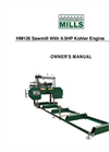 Woodland - Model HM126 - Portable Sawmill Manual