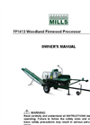 Woodland - Model 14HP - Firewood Processor Manual