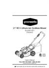 80V Pro - Cordless Lawn Mower Manual