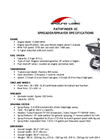 Pathfinder XC Spreader Sprayer Brochure