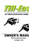 Model 543 - 43` wide Chisel Plow / Cultivator Brochure