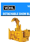 Vohl - Model VL-200 - Detachable Snow Blower - Brochure