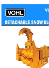 Vohl - Model VL-275 - Detachable Snow Blower - Brochure