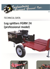 Model FGRM 24 - Log Splitters - Brochure