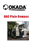 Okada - Model OAC Series - Boom Mounted Plate Compactors - Brochure