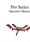 ProMow - Pro Series Operators Manual