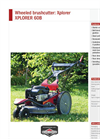 XPLORER - Brushcutter Brochure