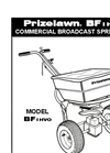 Bigfoot BF 1 HVO Commercial Broadcast Spreader Manual