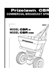 CBR lV - Commercial Spreaders Manual