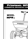 Mid Pro Rotary MPR II Semi-Pro Spreaders Manual