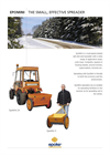 Bunce - Model EpoMini 20 - Small Towed Drop Salt Spreader - Brochure