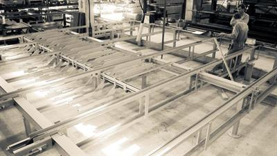 Cross Conveyor for Slabs and Lumber