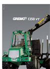 Gremo - Model 1350VT - Forwarder Brochure