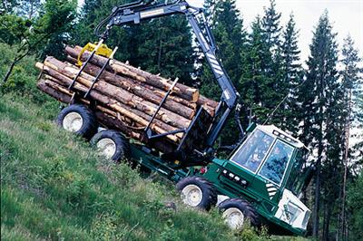 Gremo - Model 950R - Forwarder