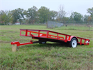 Falcon - Model Mini Tilt - Single Axles  Trailer