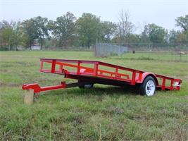Falcon Trailer - Model Mini Tilt - Single Axles  Trailer