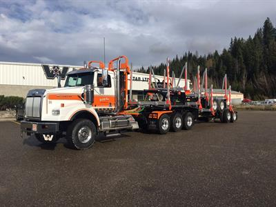 Magnum - Four Axle B Train Forestry Trailers