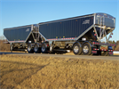 Doepker - Model Super B - Legacy Aluminum Open End Grain Trailer