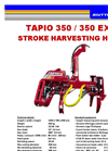 Tapio - Model 350 - Stroke Harvesting Head Brochure