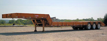 Model 50 Ton - Lowboy Trailer Specifications