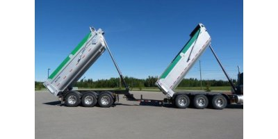 Canuck - Tri-Axle  Pony/Pup Trailer