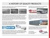 Barrett - Model Slatside Series - Aluminum Gooseneck Livestock Trailers Brochure