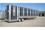 Barrett - Model Punchside Series - Aluminum Ground Load Livestock Trailers