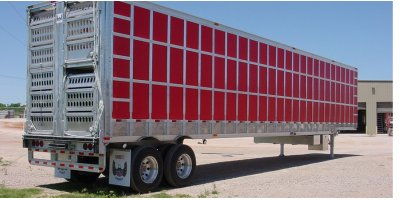 Barrett - Model Punchside Series - Aluminum Semi Livestock Trailers