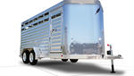 Featherlite - Model 8107 - Bumper Pull Livestock Trailer