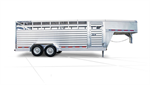 Featherlite - Model 8117 - Gooseneck Livestock Trailer