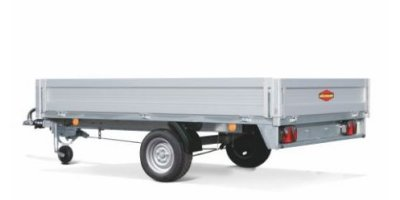 Model HL-AL 2514/135 - Robust High - Bed Trailer