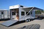 Model FC Deluxe Front Kitchen - Fun Runner Trailers
